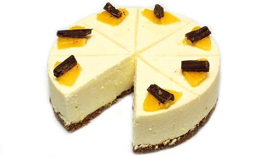 Torte mit aranca zitrone