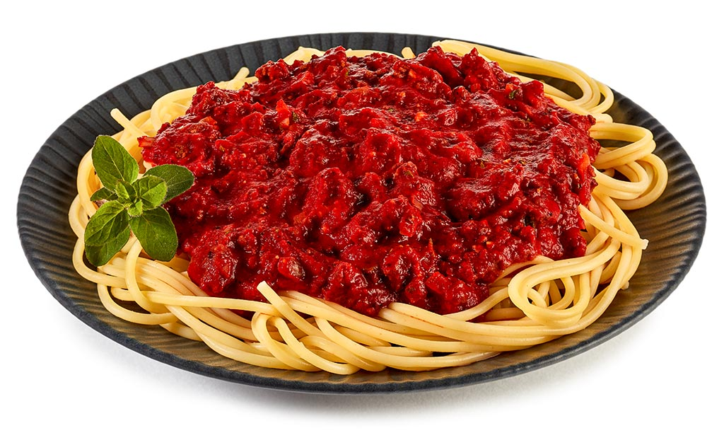 Spaghetti Bolognese, simple