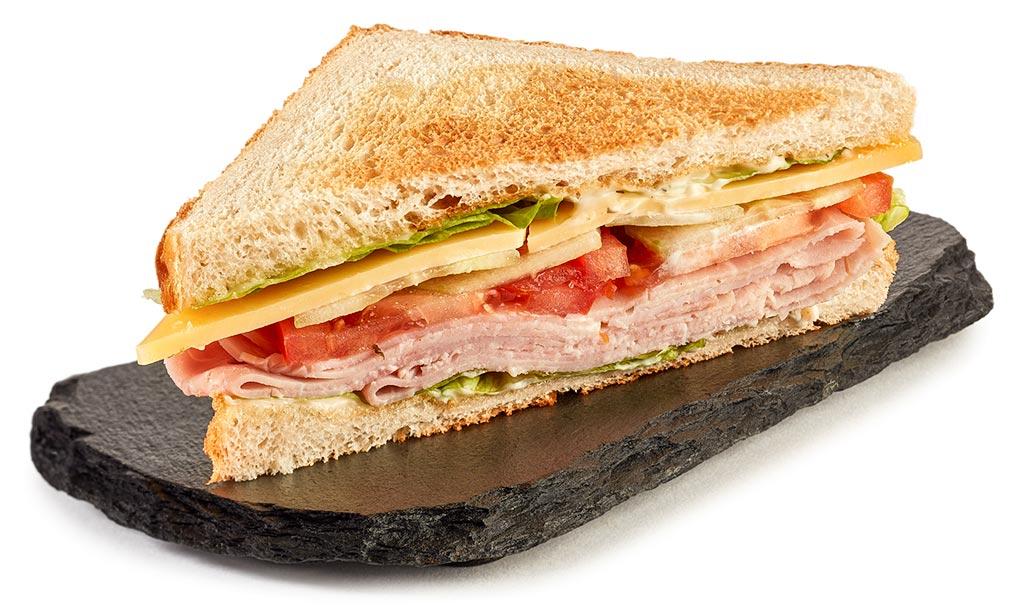 Käse Schinken Sandwich Rezept