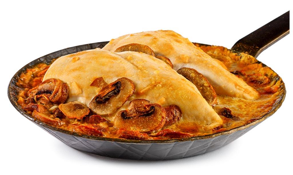Chicken breast au gratin