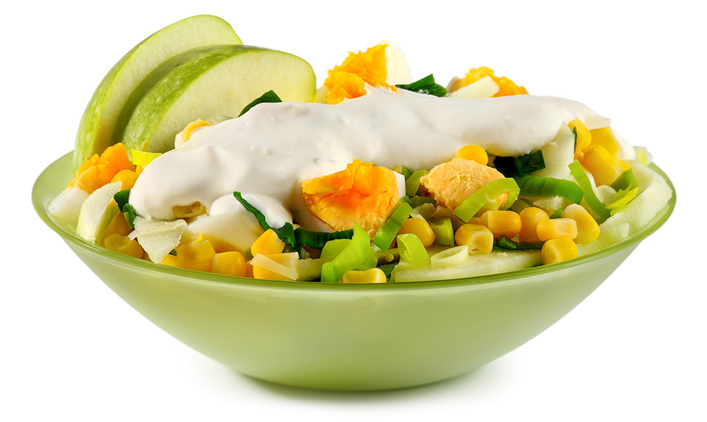 Apple Leek Salad