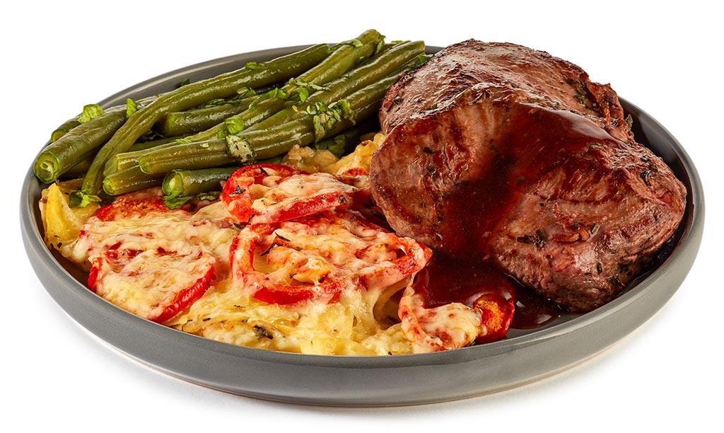 Lamb Steak Provencial