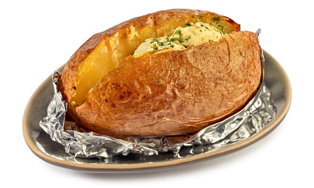 Foils potato