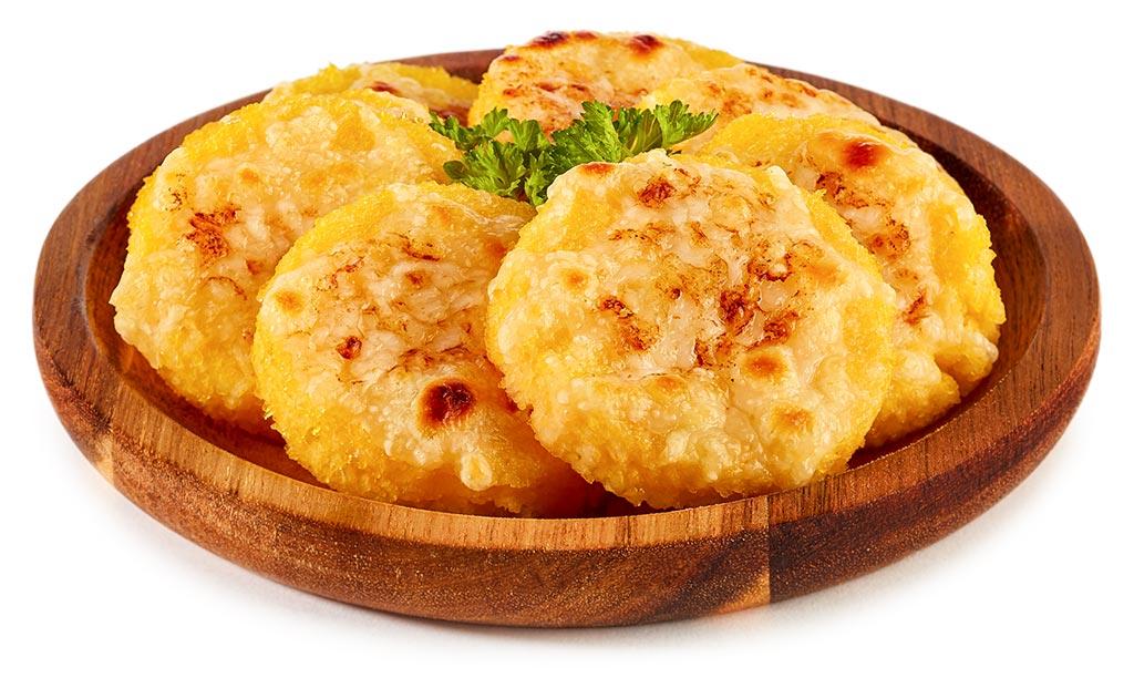 Polenta Cheese Taler