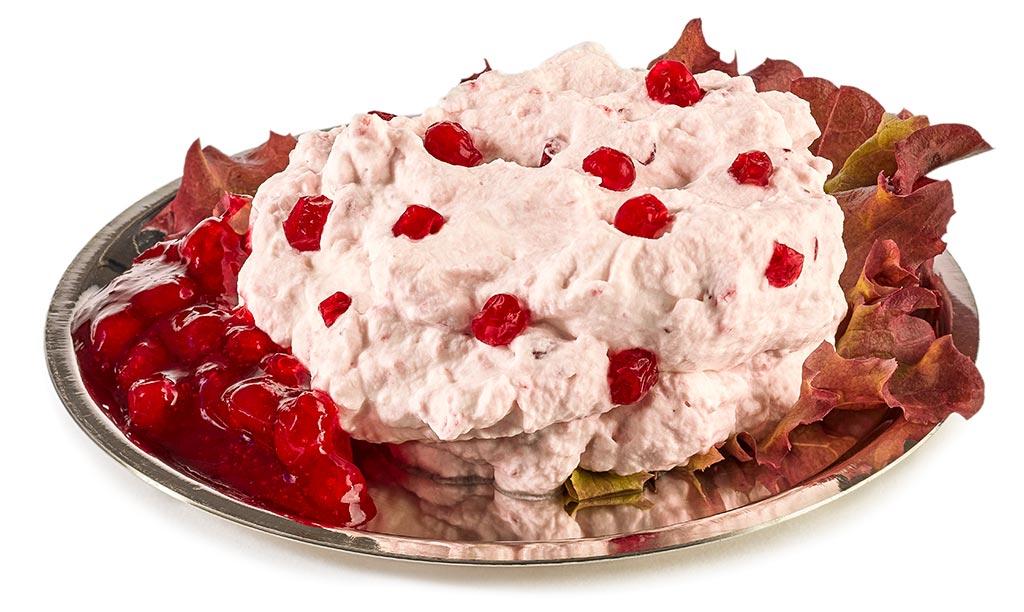 Cranberry cream