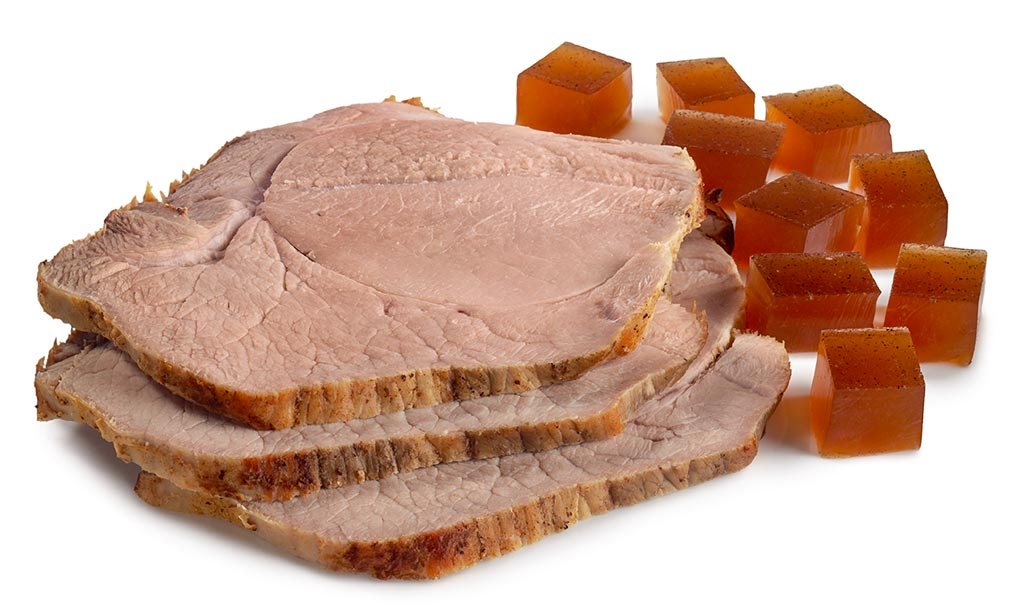 Sliced Cold Roast with Jus