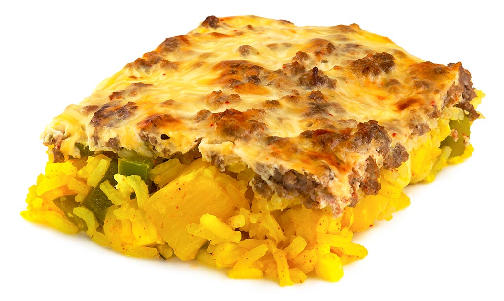Curry Rice Casserole