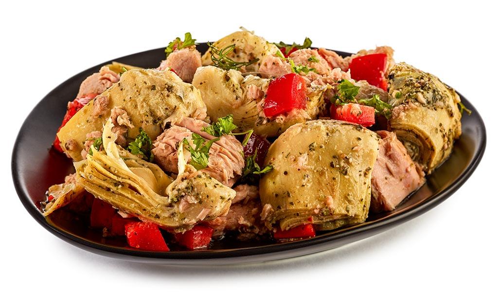 Artichokes Tuna Salad