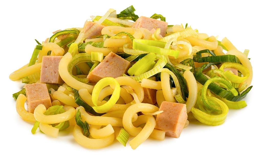 Hot Noodle Salad