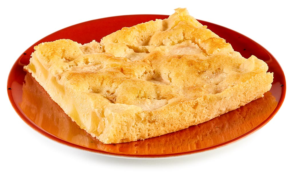 Apple Cake On The Tray
