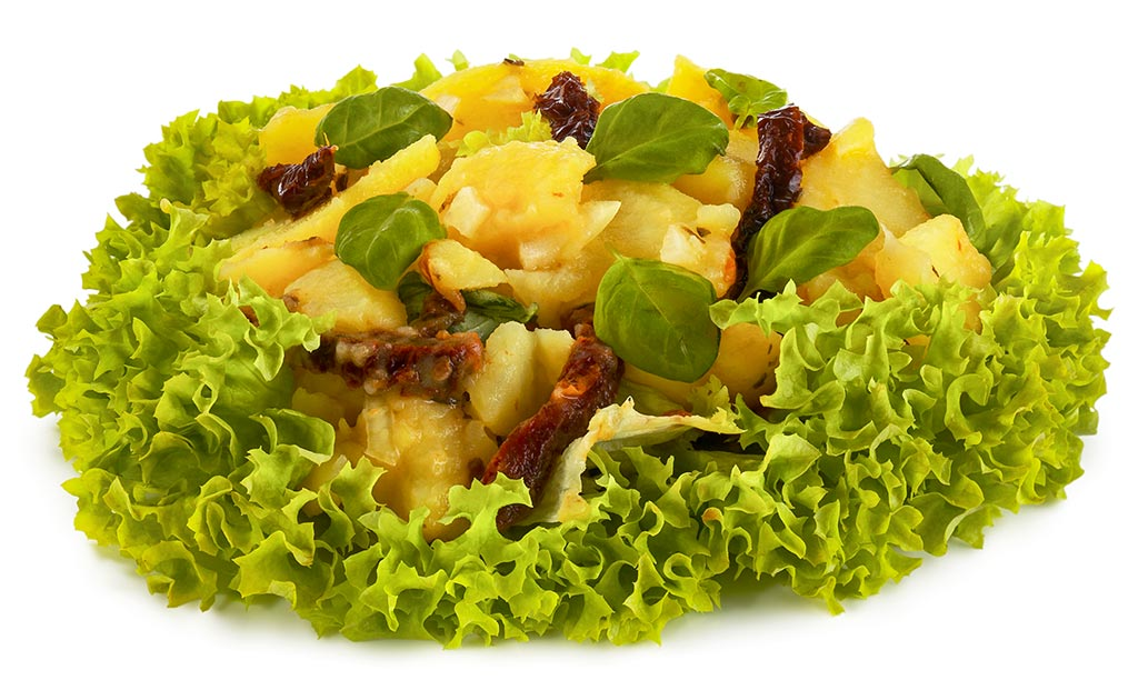 Basil Potato Salad without Mayo