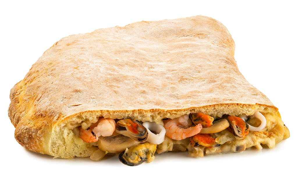 Recipe Seafood Calzone Marions Kochbuch