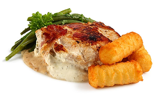 Pork with Cream Cheese Filling