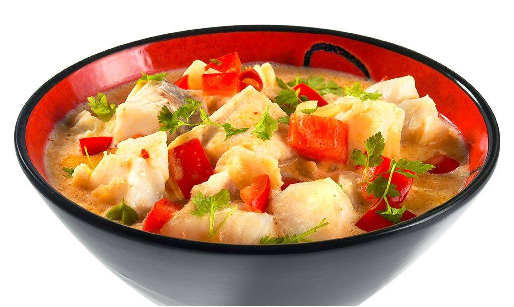 Asian Fish Curry