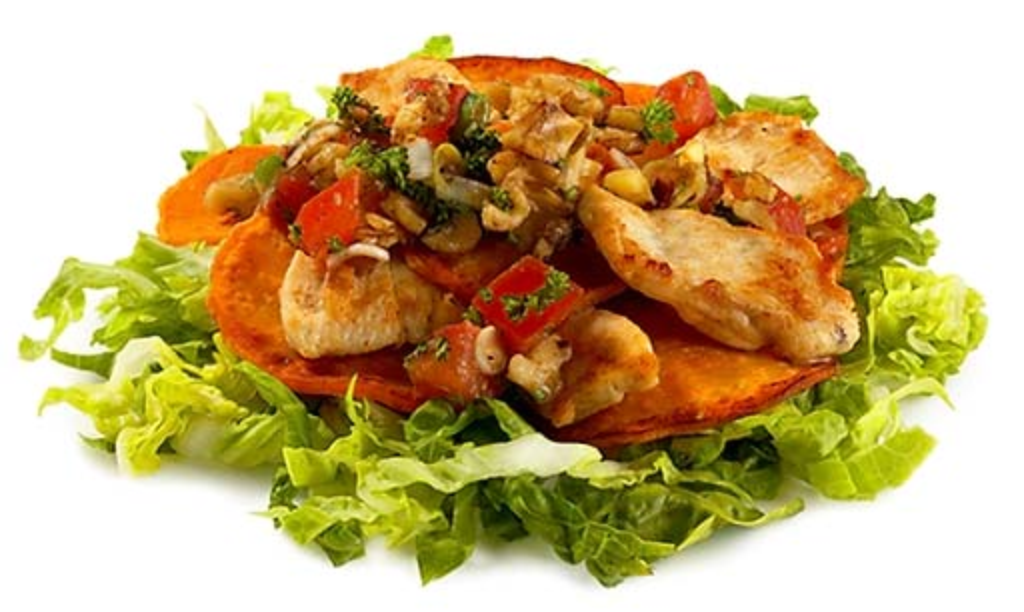 Chicken Sweet Potato Salad