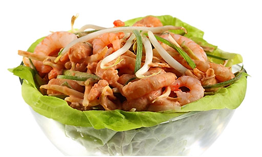 Shrimps Salad asian (asian)