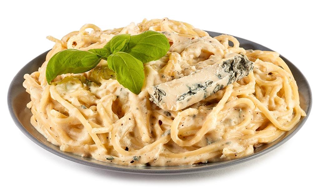 Spaghetti with Gorgonzola Sauce