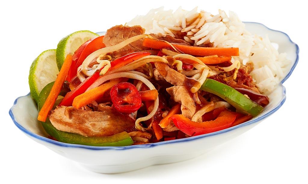 Pork fillet Chinese