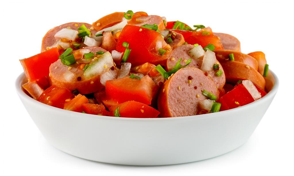 Bockwurst Salad