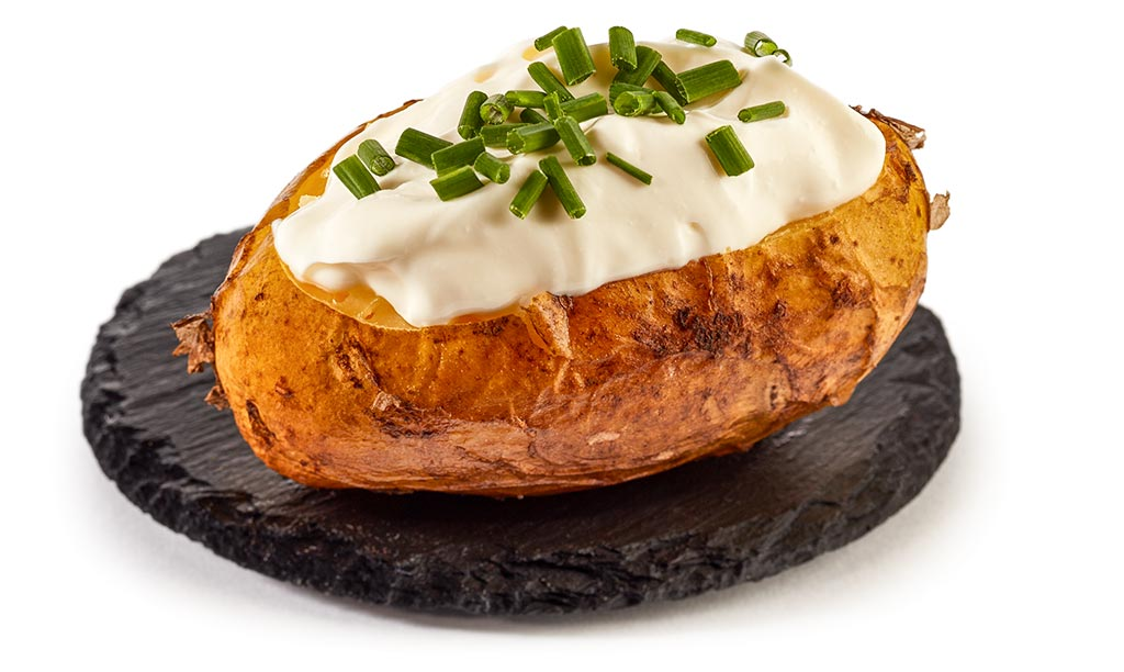 Baked Potato - Oven potatoes