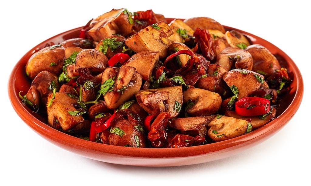 Antipasti mushrooms