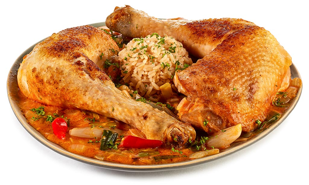 Chicken with Moambe
