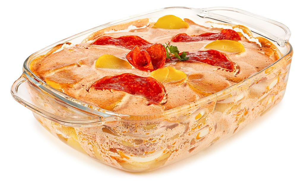 Rezept drucken ungarischer kartoffel auflauf - Eier hart kochen dauer ...