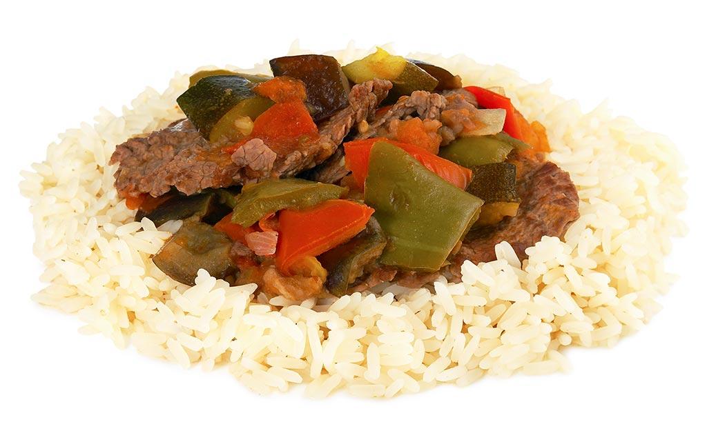 Rice dish from Senegal