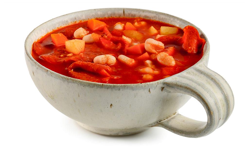 Serbian beans soup