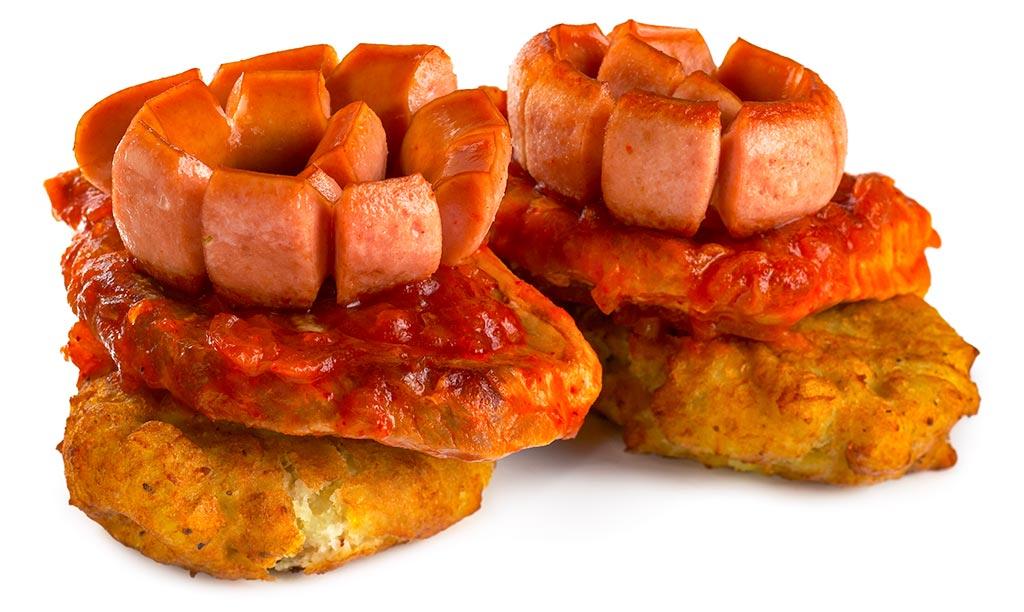 Betyaren Schnitzel - potato buffer