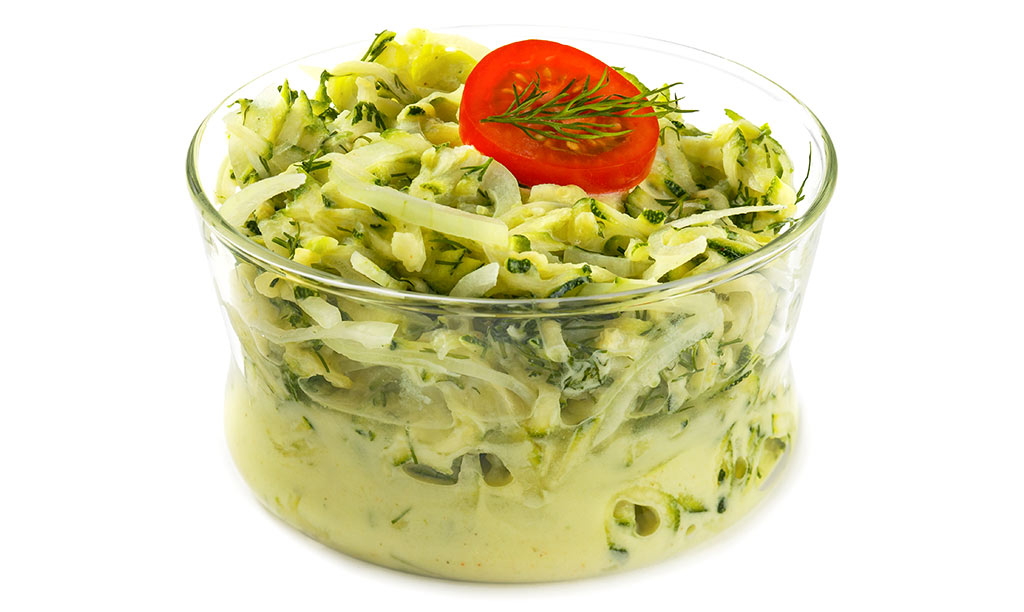 Zucchini Raw vegetables