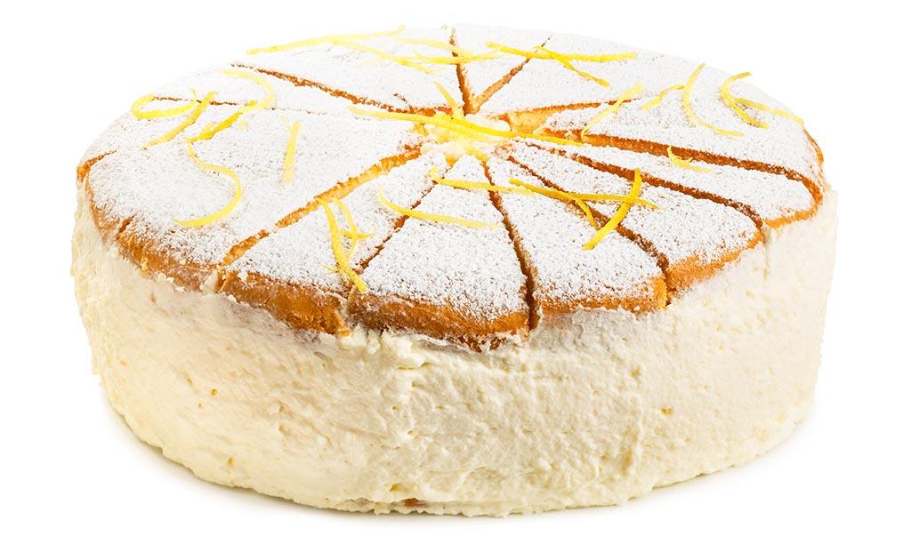 Cheese cream cake