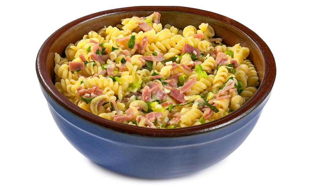 Bavarian ham noodles