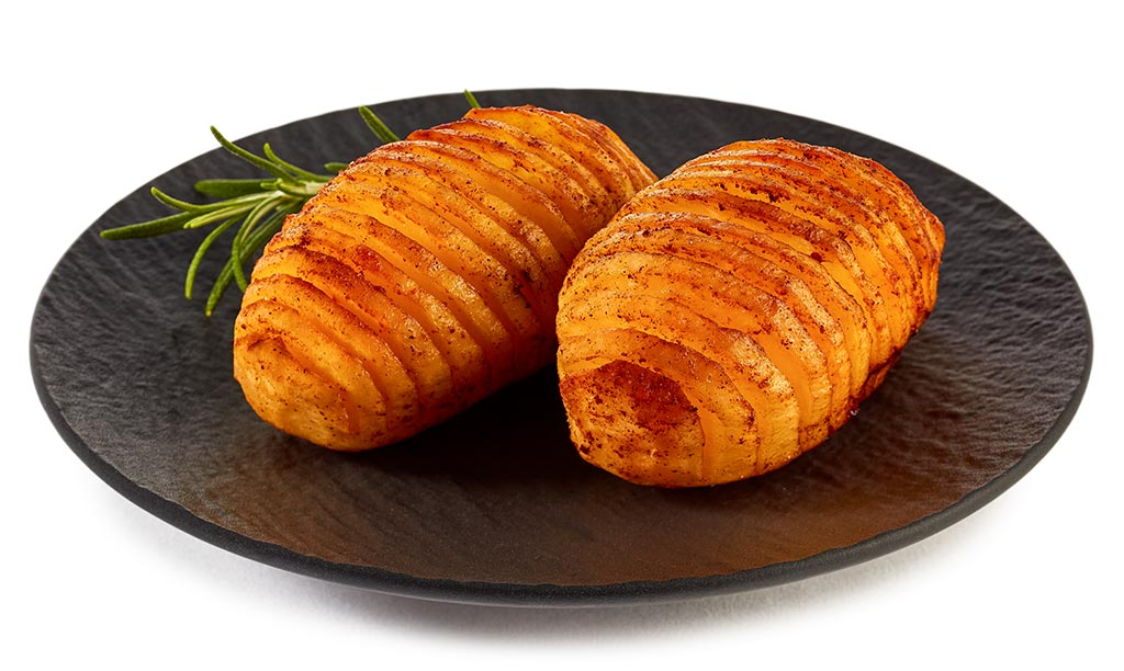 Fan potatoes