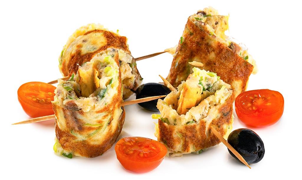 Anchovies Tortilla