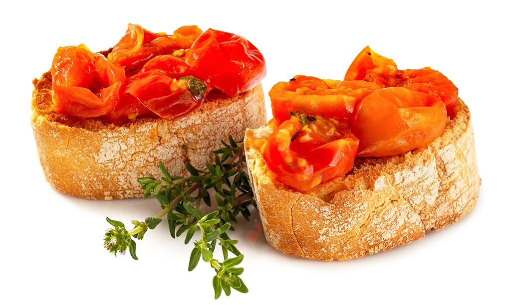 rezept drucken bruschetta mit tomaten sugo. Black Bedroom Furniture Sets. Home Design Ideas