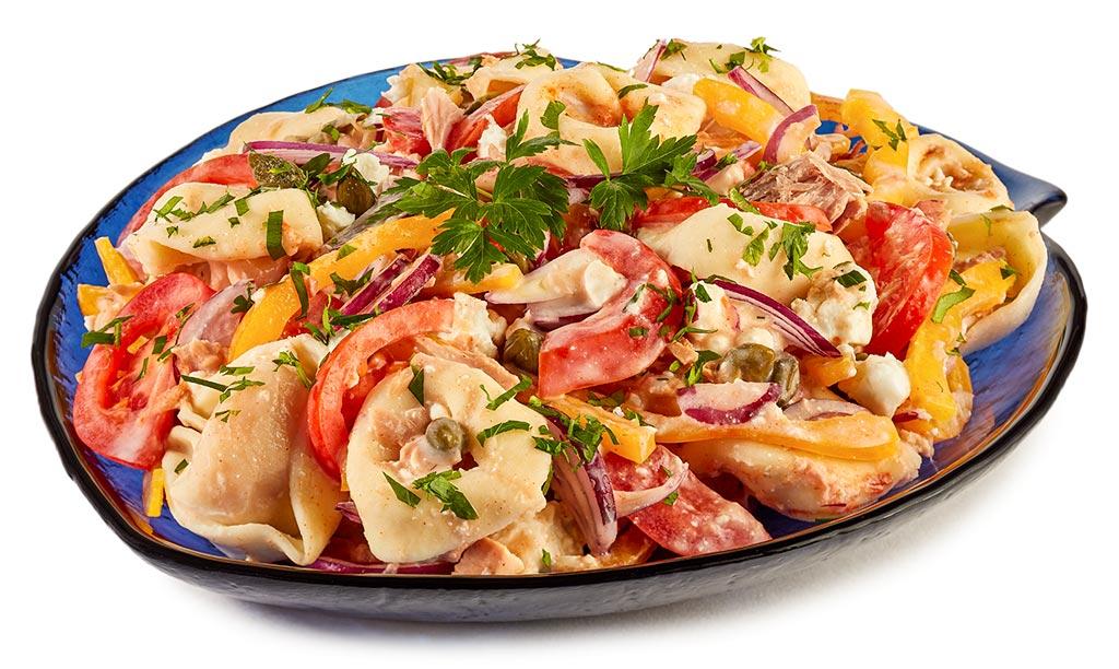 rezept drucken tortellini salat mit thunfisch. Black Bedroom Furniture Sets. Home Design Ideas