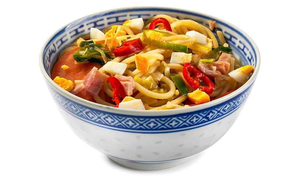 Asian Spaghetti Salad