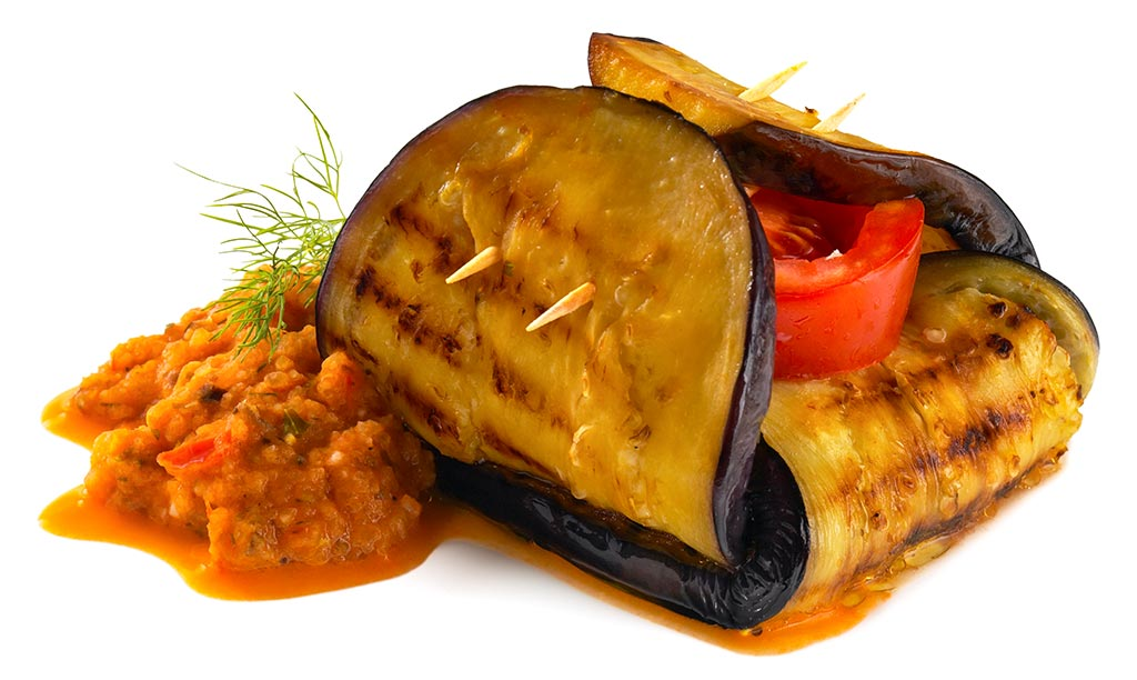 Aubergine Grill Package