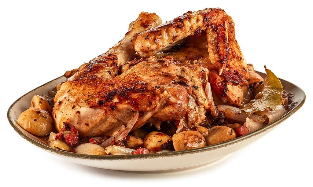 Chicken a la Coq au vin