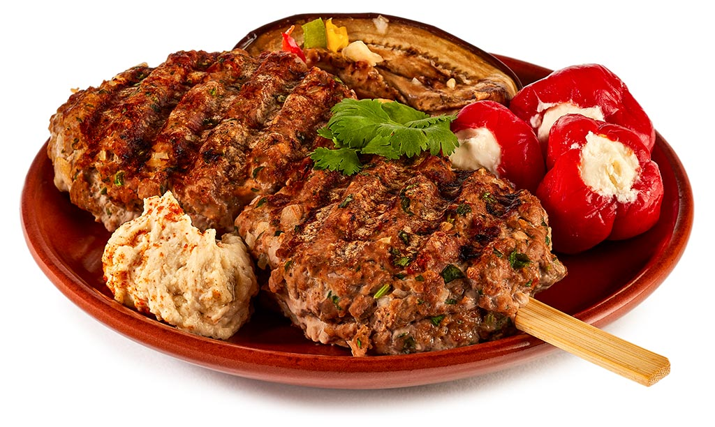 Arabian Köfte meatballs