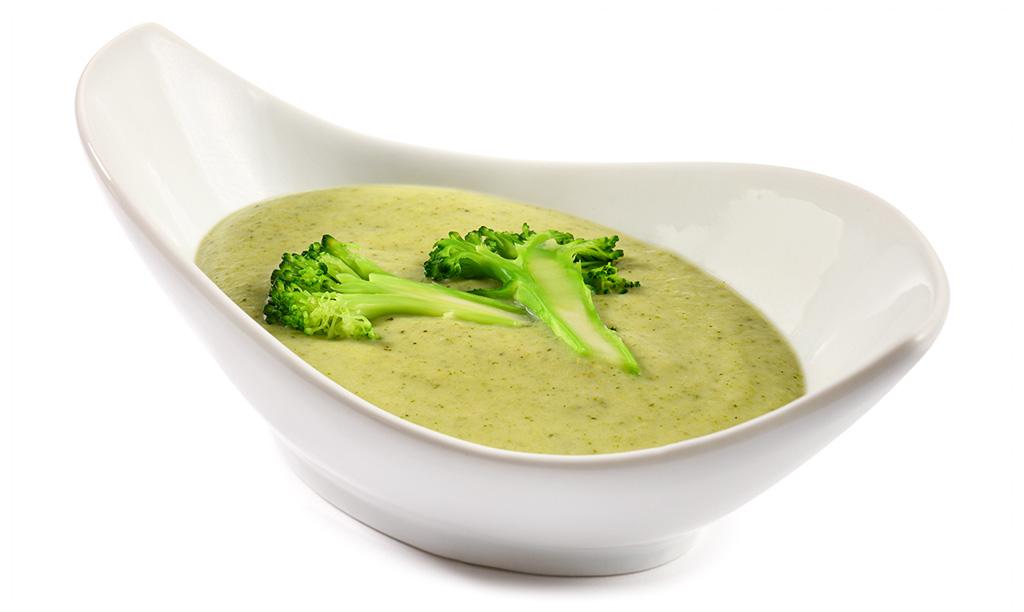 Broccoli Cream Soup with Gorgonzola