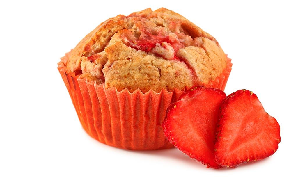 rezept drucken erdbeer muffins. Black Bedroom Furniture Sets. Home Design Ideas