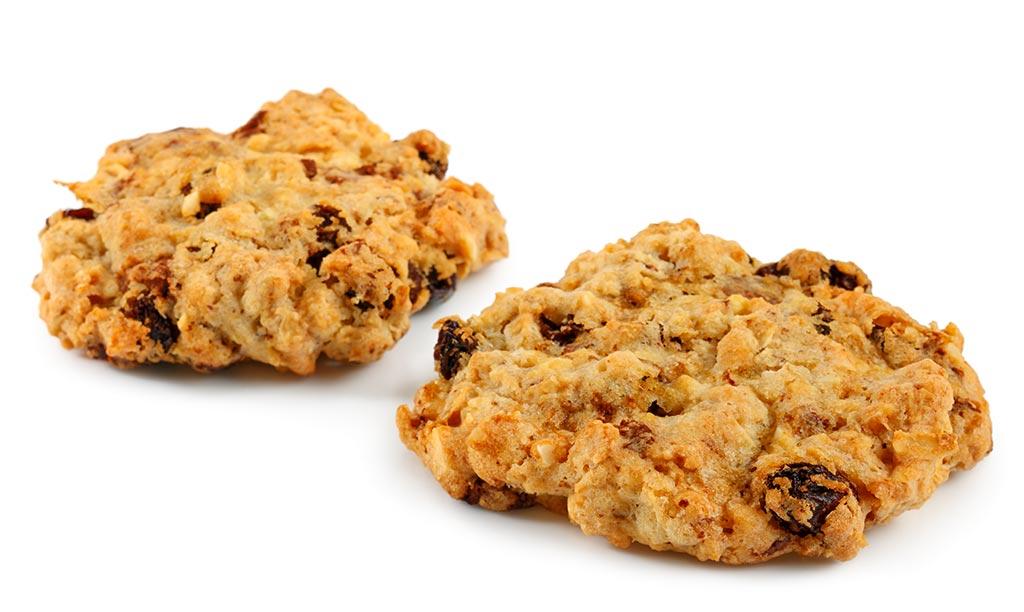 Almond Raisins Cookies