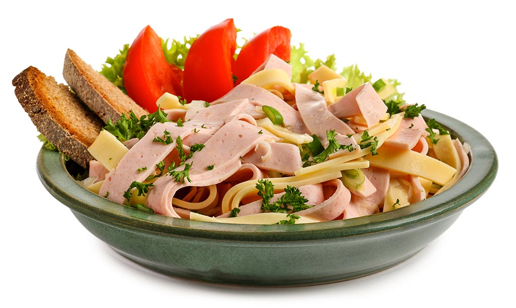 Allgäu sausage salad