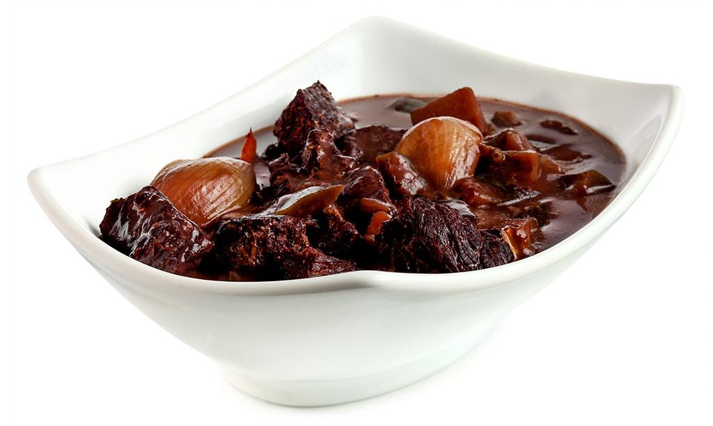 Aubergines Beef Goulash