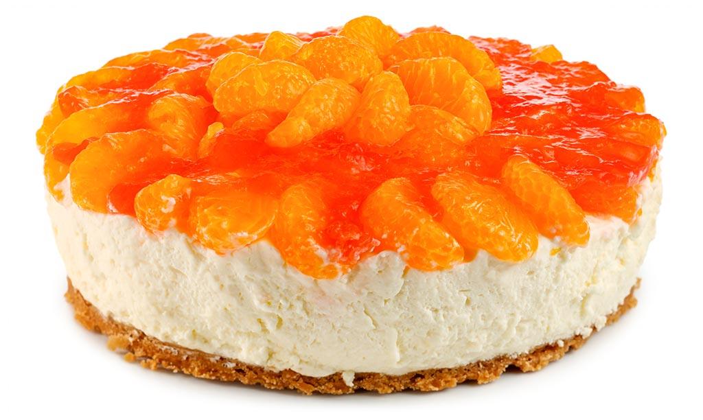Kase Sahne Torte Mit Mandarinen Rezept