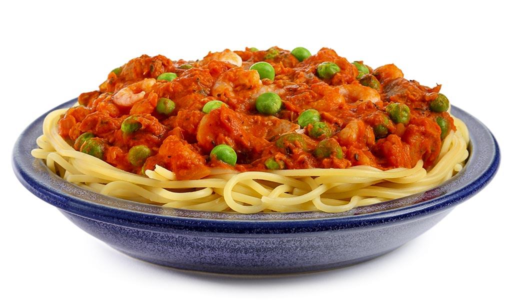 rezept drucken spaghetti mit shrimps sauce. Black Bedroom Furniture Sets. Home Design Ideas