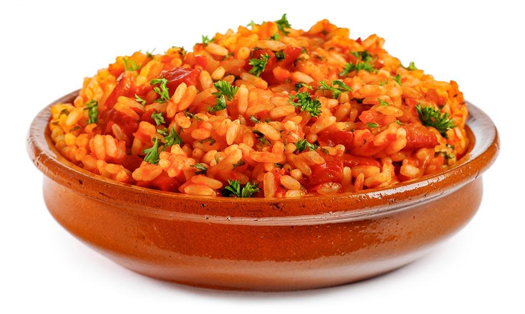 Ajvar rice