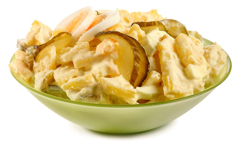 Rezept drucken d nischer kartoffel salat mit ei - Eier hart kochen zeit ...